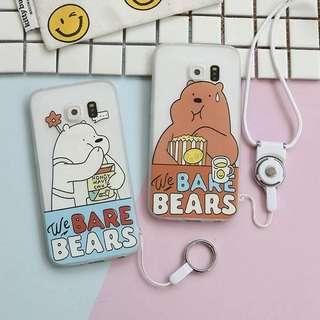 [PO] Samsung We Bare Bears Phone Case