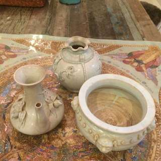 ANTIQUE yingqing Chinese Porcelain Priced To Clear