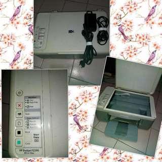 HP Deskjet F2290 (all in one)