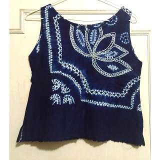民族風 上衣+裙