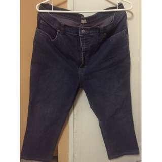 Herbench high waist boot cut pants (waist34)