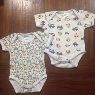 Size 0000 Sleeveless Baby Rompers