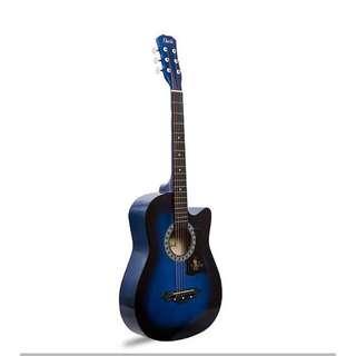 Davis JG-38 Acoustic Guitar (Blue)