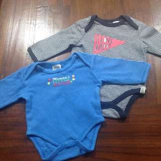 Size 0000 Long Sleeve Baby Ronpers