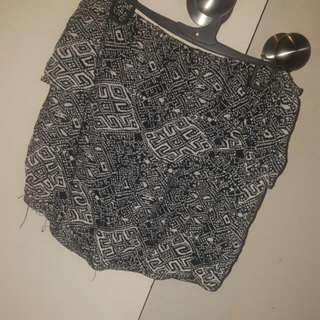GLASSONS SZ SML HALF TOP