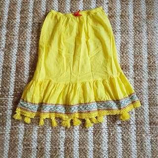 Boho Gypsy Skirt Naudic Small