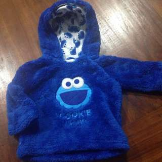 Size 000 Adorable Cookie Monster Jumper