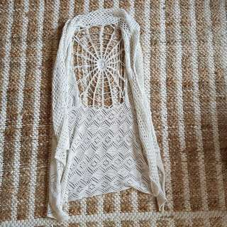 Beach Cover Up Crochet Boho
