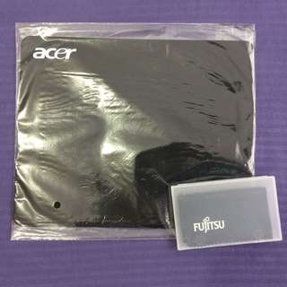 ALL MUST GO - $20 = 25 Sets Take All**MOVING OUT SALE - $15/10pcs (minimum)** Acer Mouse pad with free Microfiber cloth