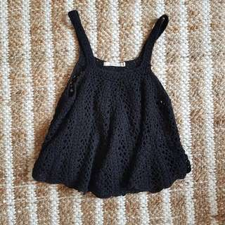 Good Quality Crochet Crop Top Xs Small Boho
