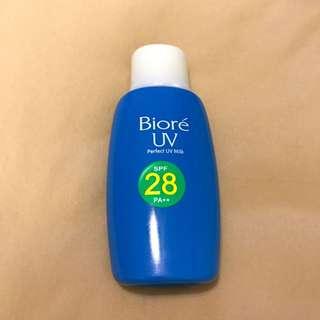 BIORE SPF28 防曬霜