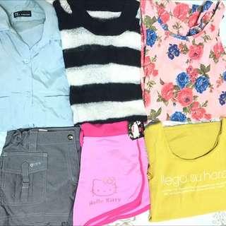 衣物六件組含運!