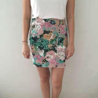 Cotton On Floral Tube Skirt