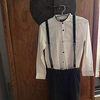 A Set Of ZARA Shirt And Pants For 9-12 Year Old Boy