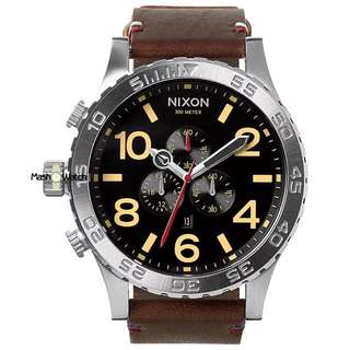 Nixon 51-20 Chrono Leather Watch