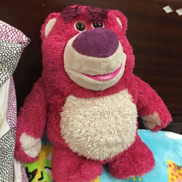 熊抱哥玩偶(會說話有草莓味)