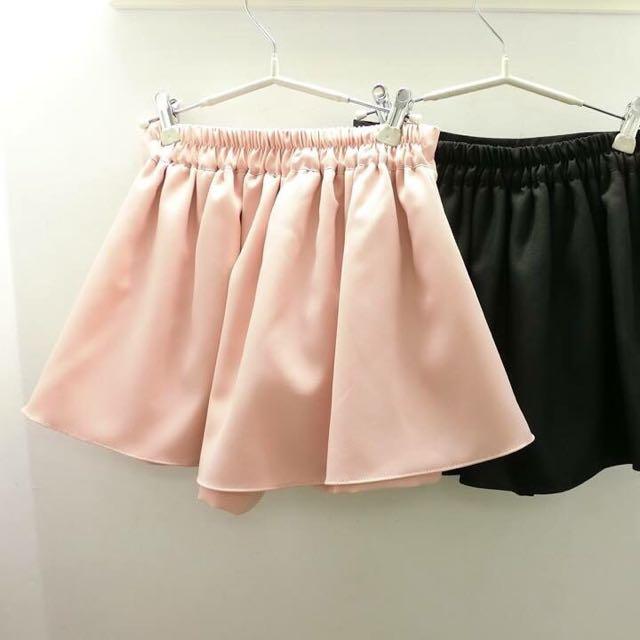 粉紅色褲裙
