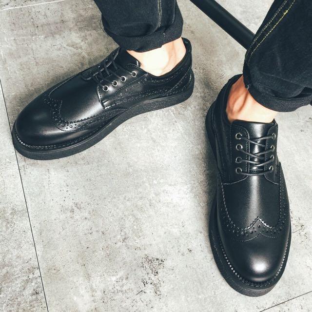 牛津小皮鞋