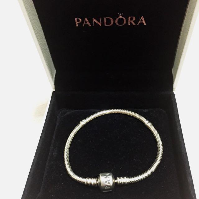 正品 17 潘朵拉 Pandora 蛇鍊 手鍊