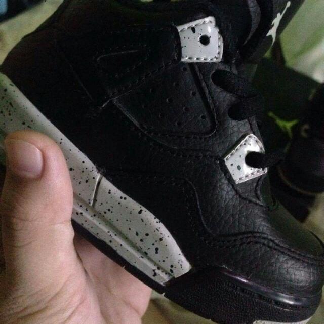 Air Jordan retro 4 black Grey