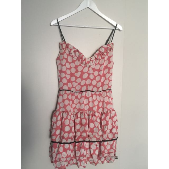 Alannah Hill Frills And Pills Frock Size 10