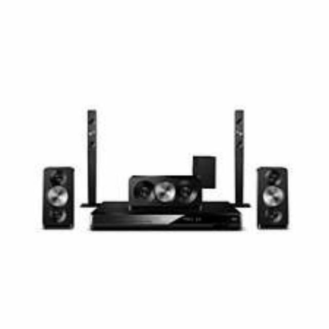 (Reserved)All productsSound and visionHome cinema sound5.1 home cinema Philips 5.1 Home theatre HTS5543 Double Bass Sound . Comes With Blu Ray Player HTS5543/12