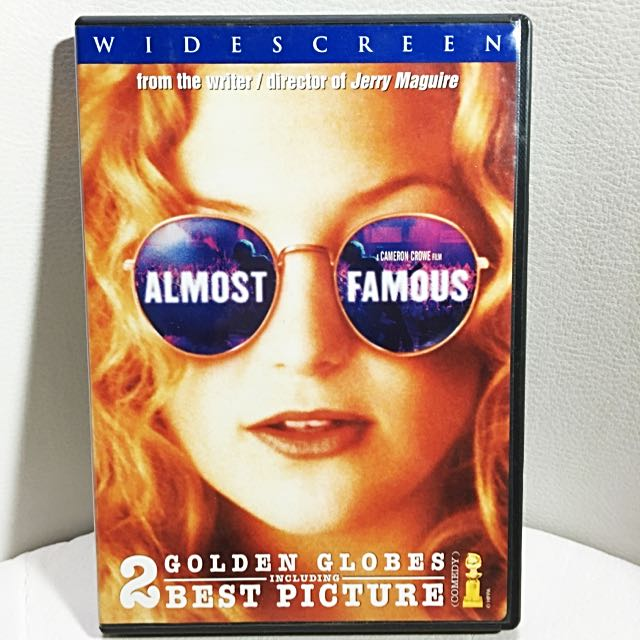 Almost Famous Region 1 DVD
