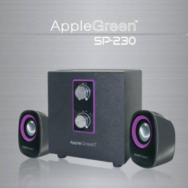 Apple Green SP-230 2.1 CH MULTIMEDIA SPEAKER