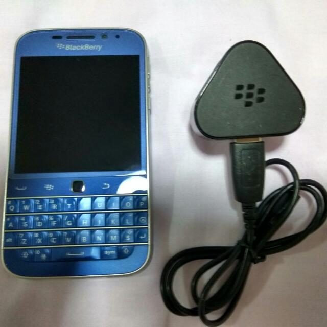 Blackberry Classic Cobalt Blue (Price Reduced)