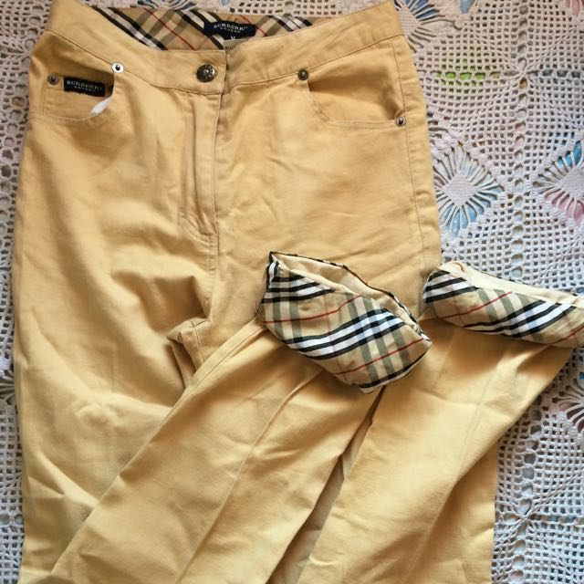 burberry highwaist pants