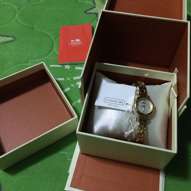 Coach All Gold Watch