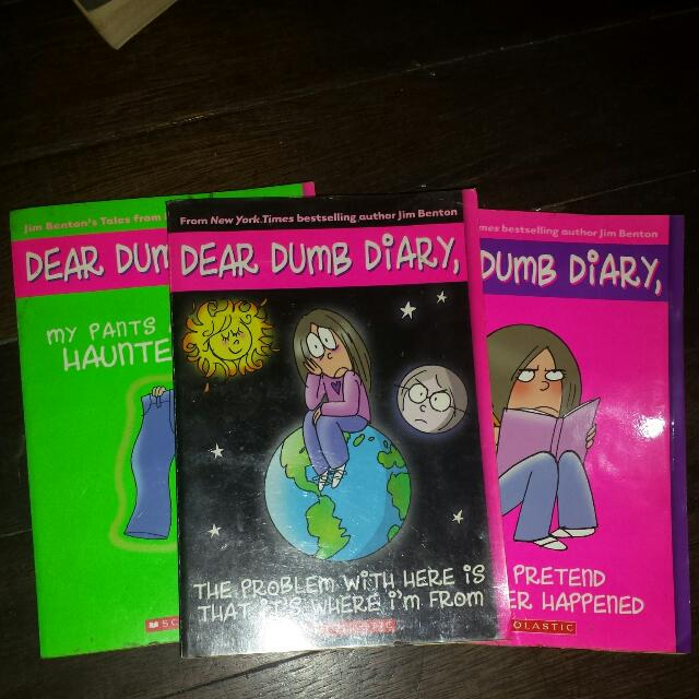 DEAR DUMB DIARY (Y.A) (70 EACH 200 FOR ALL THREE)