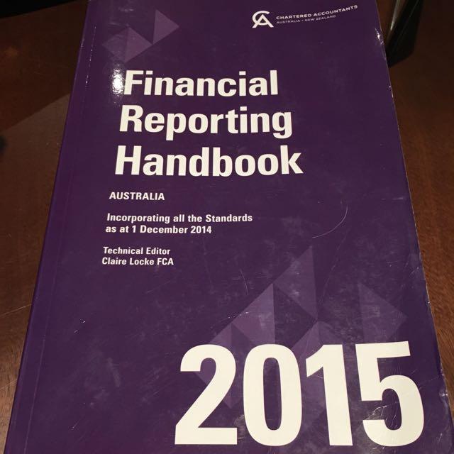 Financial Reporting Handbook 2015