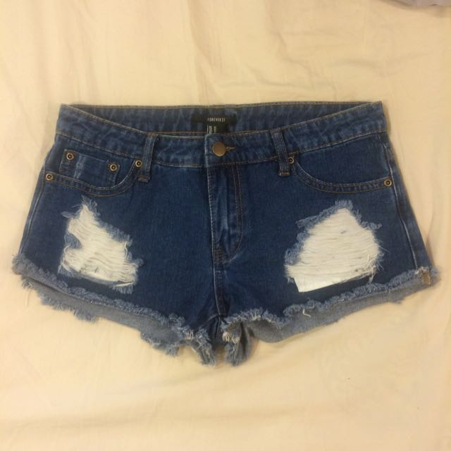 Forever 21 Ripped Shorts