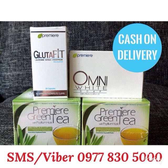 Glutafit, Green Tea and Omni Soap