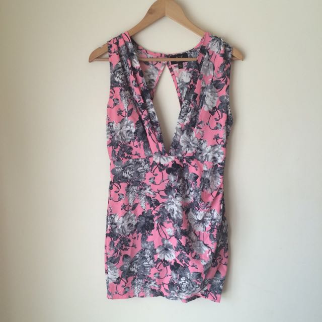 Ice 'Pink Floral Party Dress'
