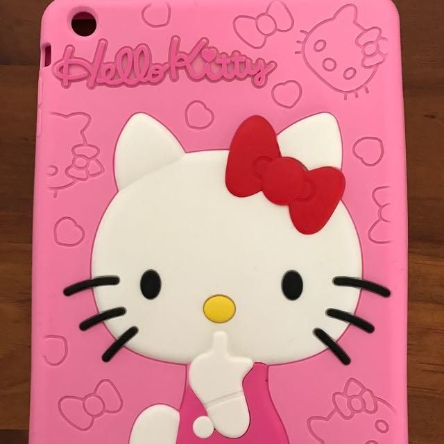 iPad Mini Hello Kitty Pink Cute Silicon Case Brand New