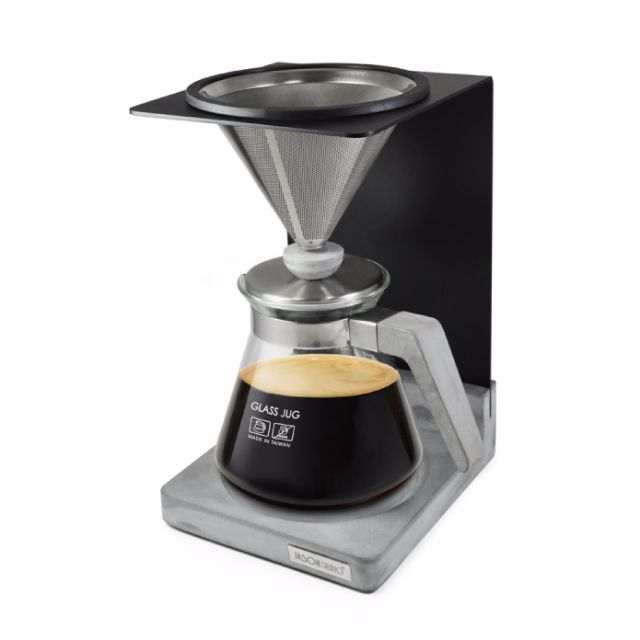 js工業4.1咖啡濾杯組 清水模與咖啡的跨界合作 精裝木箱