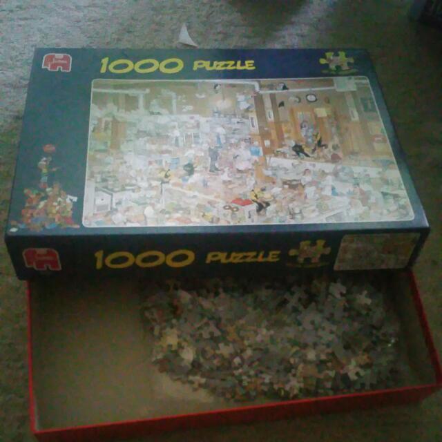Jumbo Brand Jigsaw Puzzle 1000 pc (Brand New)