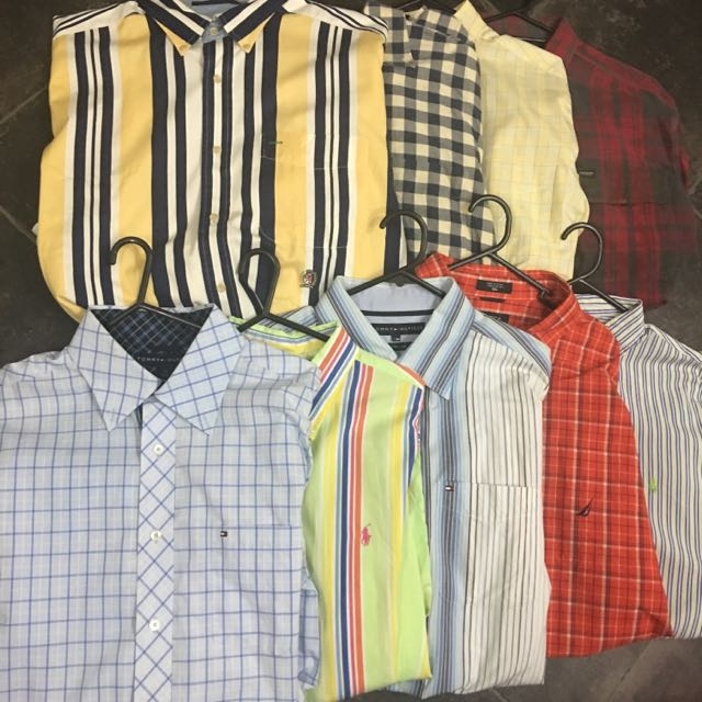 LOTS OF BUTTON UPS!