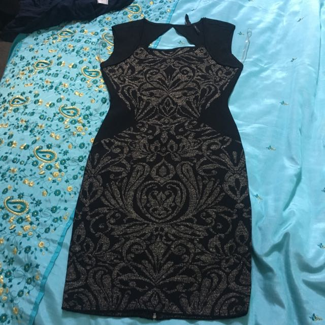 MARCIANO COCKTAIL DRESS