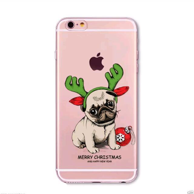 Merry Pugmas! Christmas iPhone Case 4, 5C,  6, 6 Plus