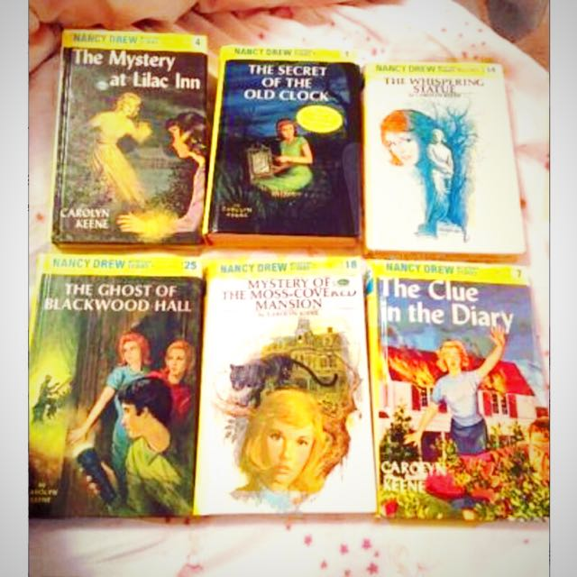 Nancy Drew Collection For Sale (Vintage - Perfect Condition)