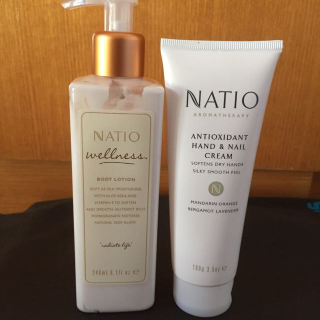 Natio Body Lotion And Hand Cream