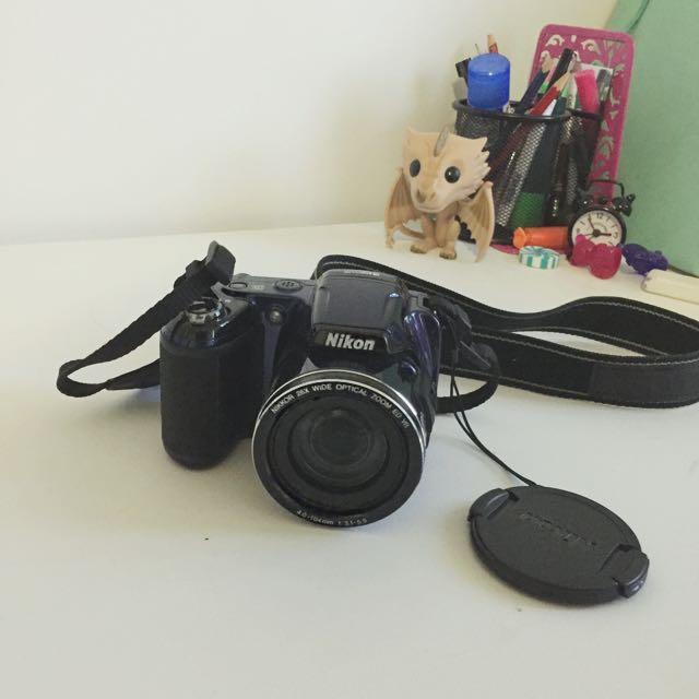 Nikon Compact Digital Camera (Blue) - L810