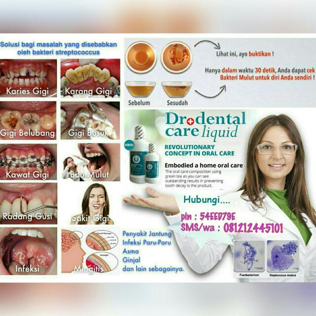Obat Kumur Herbal DR.DENTAL LIQUID