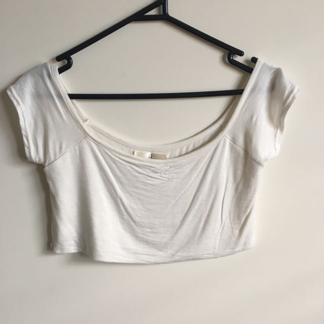 Off The Shoulder Crop Women's