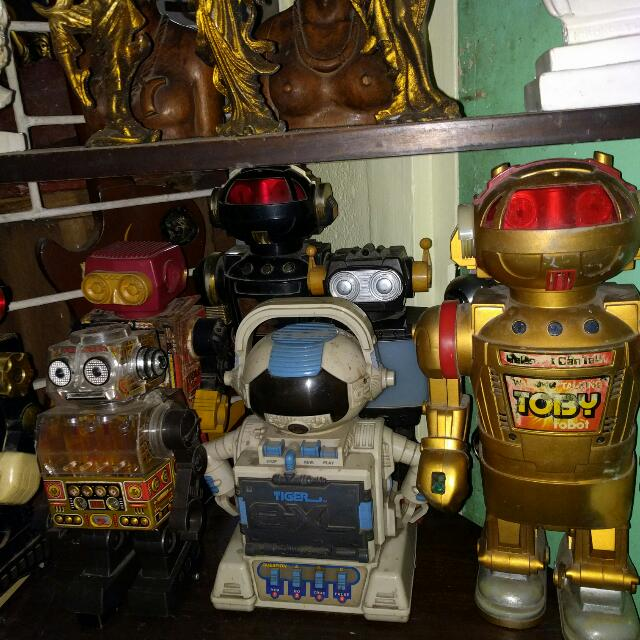 Old Robbot Toys
