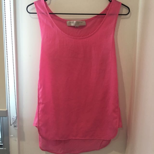 Pink French Connection Top