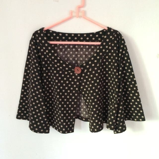 Polkadot Cropped Outer